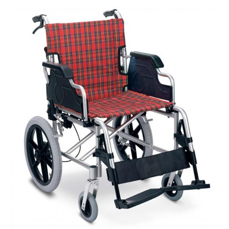 鋁合金助推式輪椅