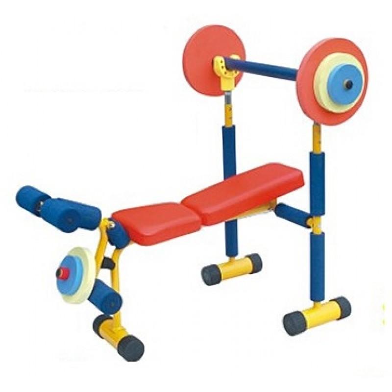 Children Weight Bench Set